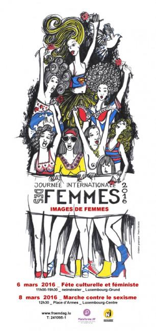 Plakat JIF2016: Images de femmes