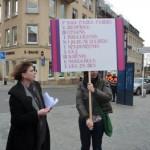 Le mot d`ordre: Féminisme 2012